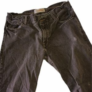 OLD NAVY Low rise straight cut brown jeans. 34x30